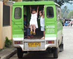 Auf den Straßen von Malaybalay