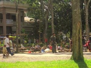 Unter Militärpräsenz wird das Lager am 1.August abgebaut