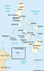 Sulu liegt im äußersten Südwesten der Philippinen.